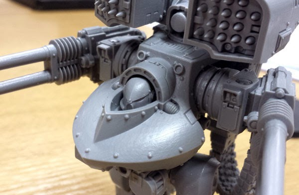 Forgeworld's New Class of Dreadnought
