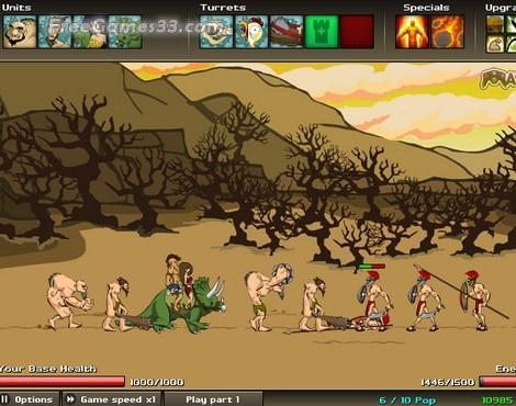 Game Strategi Perang Age of War 2