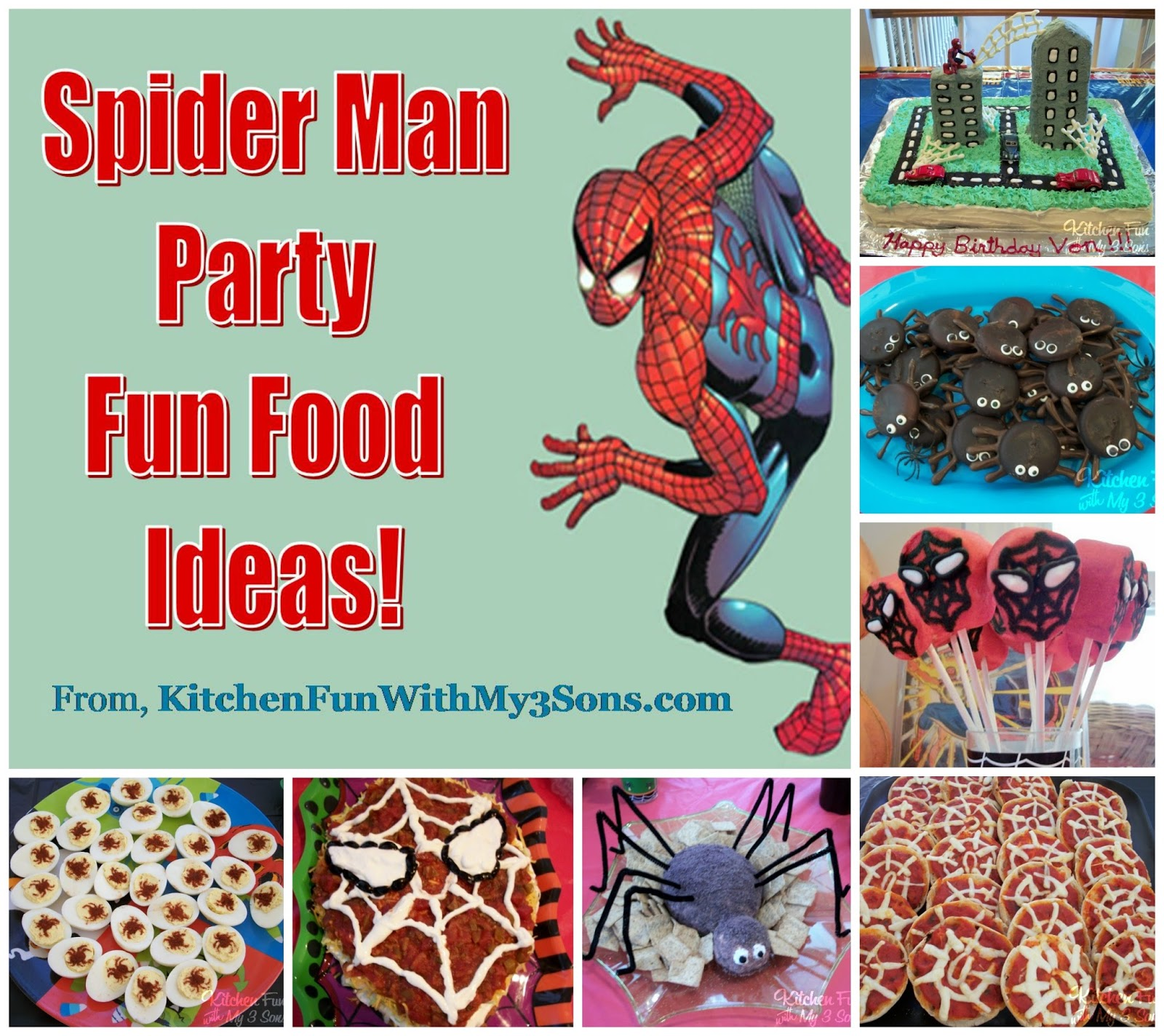 birthday party ideas birthday party ideas spiderman