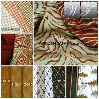 Wesco Fabrics, African collage