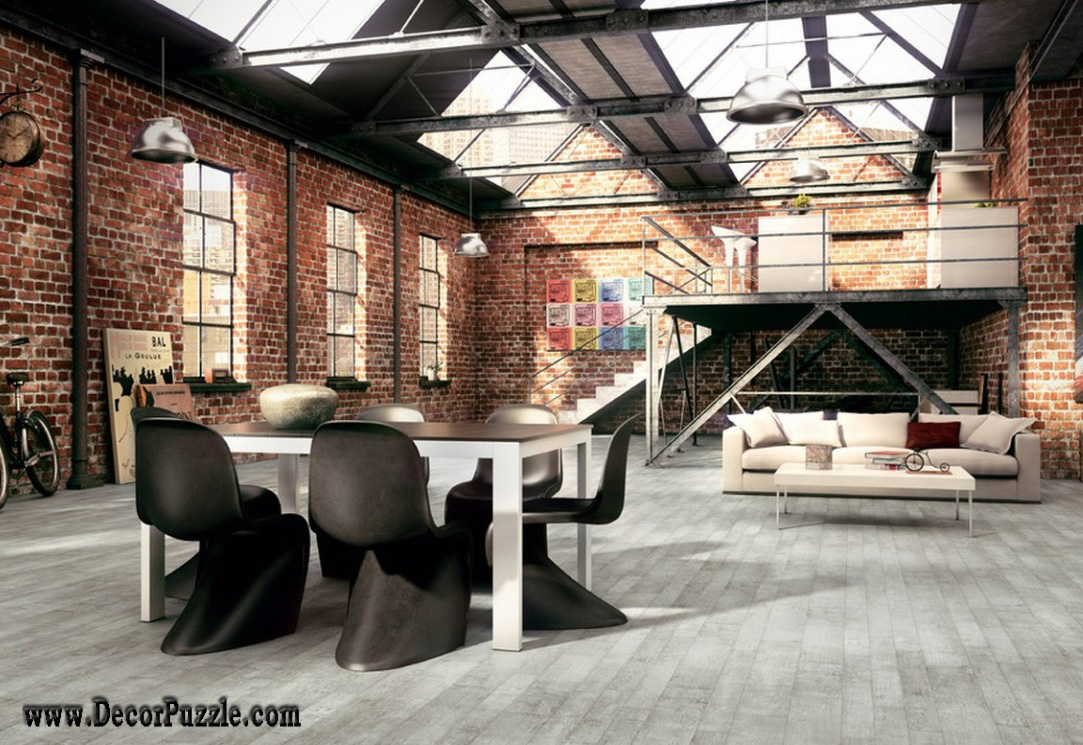 industrial looking furniture. industrial kitchen style chic decor furniture interior design looking