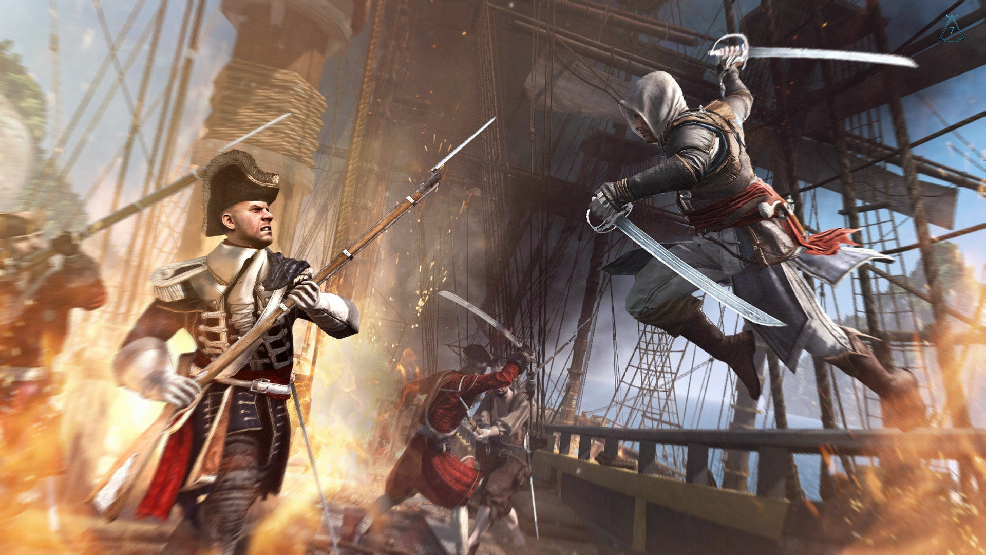 assassins creed iv black flag game wallpapers - Assassin s Creed IV Black Flag Theme ExpoThemes