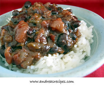Slow Cooker Cuban-Style Black Beans and Rice Recipe