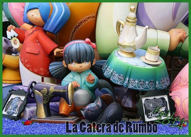 Falla Infantil Cuba-Literato Azorín