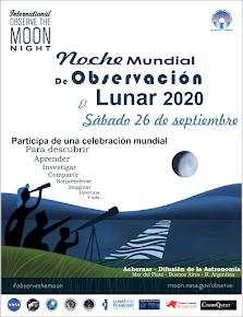 26 de septiembre: Noche Mundial de Observación Lunar
