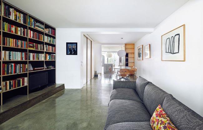 Dise o de interiores minimalista para un apartamento for Interiores minimalistas