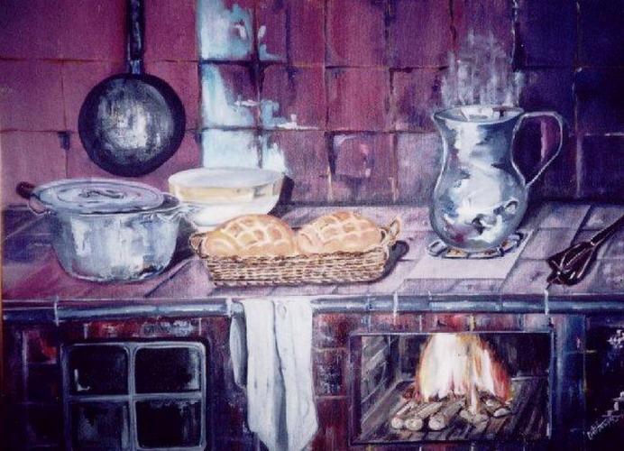 Pintura moderna y fotograf a art stica im genes de - Cocinas pintadas fotos ...