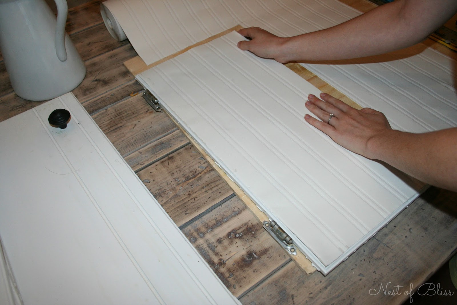 <b>beadboard wallpaper</b> cabinets tutorial | 320 * Sycamore