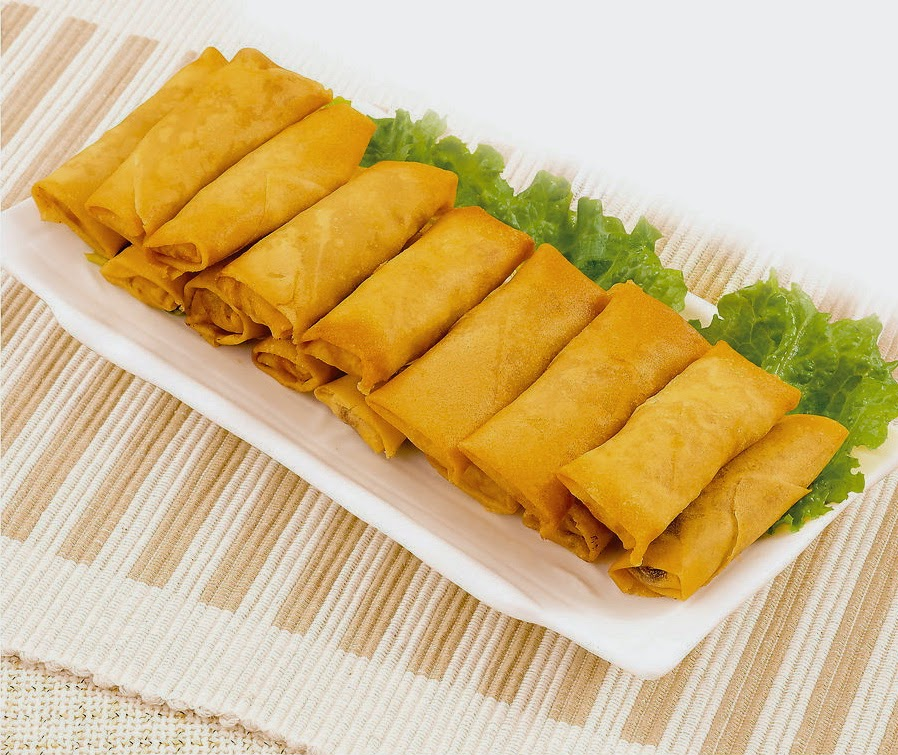 Amelia's Dessert: Have a rock and roll spring roll party