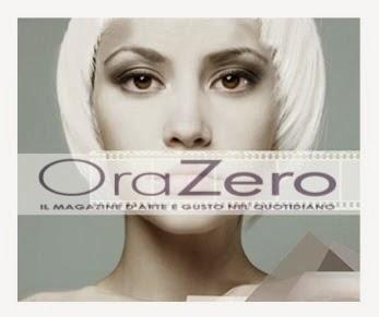 La mia intervista su ORAZERO Magazine