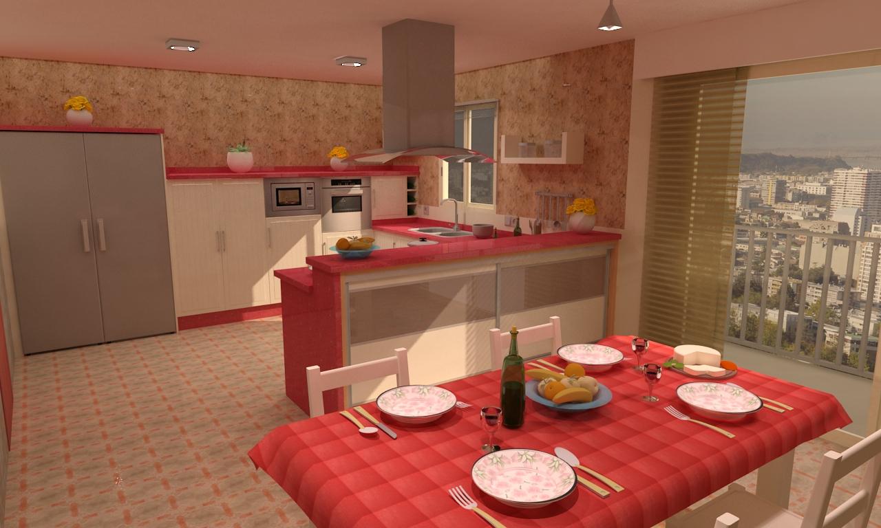 Cocina mod artemis for Artemis muebles