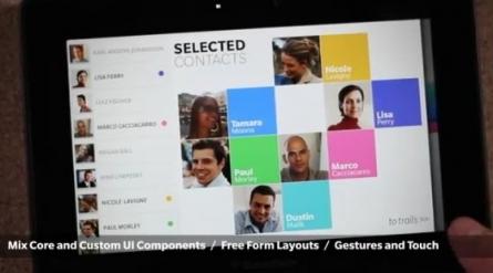 Cascades UI in BBX Platform