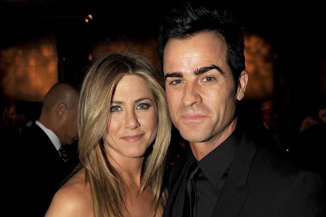 Jennifer Aniston e Justin Theroux estão casados