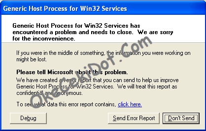 Generic Host Process for Windows 32