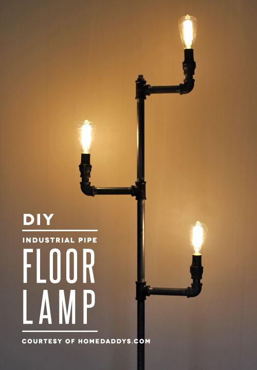 How to make an industrial pipe floor lamp how about orange how to make an industrial pipe floor lamp i really have a aloadofball Image collections