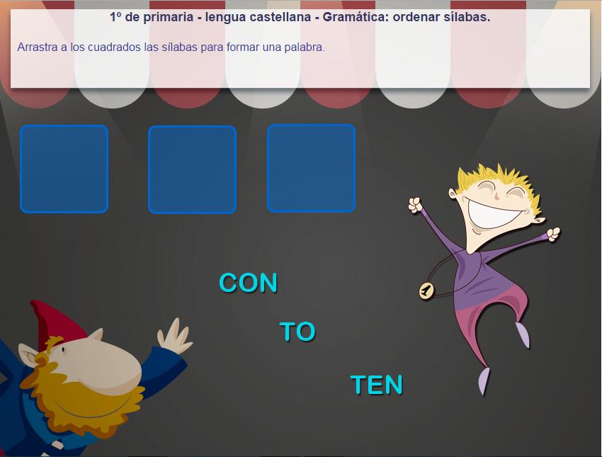 http://www.mundoprimaria.com/juegos/lenguaje/gramatica/1-primaria/161-juego-ordenar-silabas/index.php