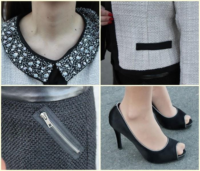 chanel, fashion, fashion blog, fashion blogger, grand palais, karl lagerfeld, Paris, streetstyle, the little black jacket