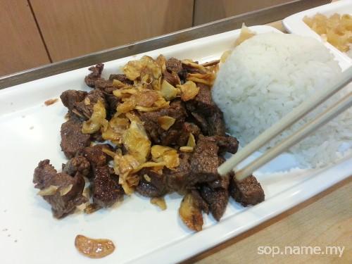 Nasi Teppanyaki di Restoran Mr Teppanyaki