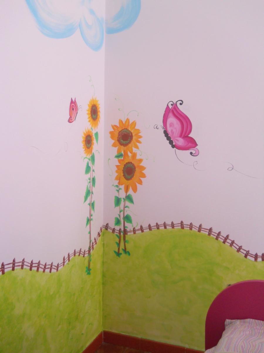 Tutti i colori di cria decorazione muro cameretta - Decori pareti camerette ...