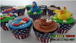 Cupcakes da galinha pintadinha