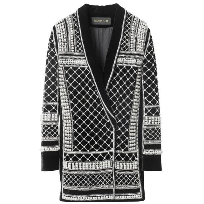 Balmain v.s Balmain x H&M 2015 Fall Collection