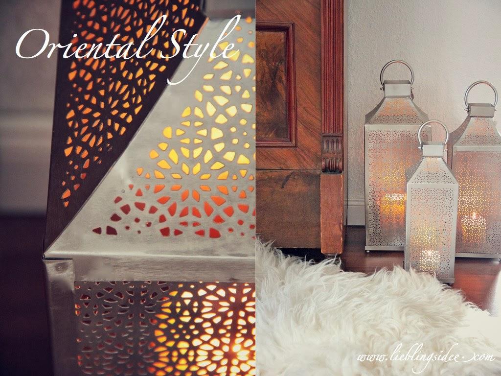 lieblingsidee oriental decoration. Black Bedroom Furniture Sets. Home Design Ideas