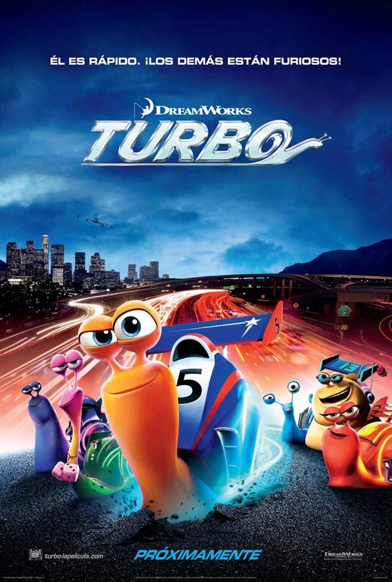 Turbo, 3D,Película, afiche, sinopsis, trailer, estreno, cine
