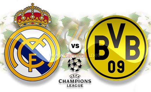Prediksi Real Madrid VS Dortmund 2013