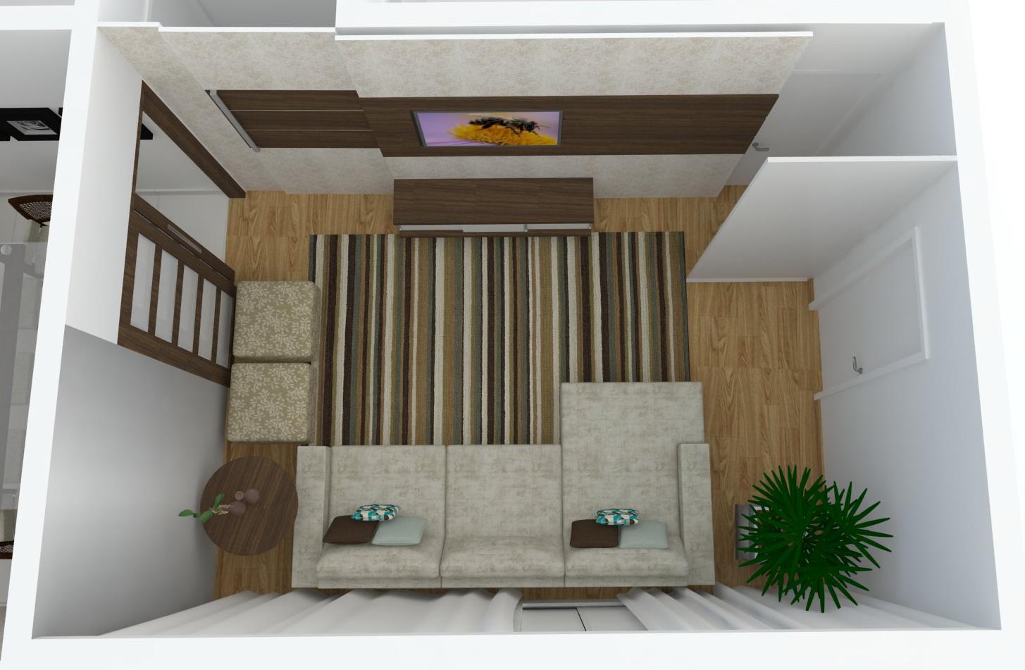 projeto arquitetônico de interior refoma cozinha lavanderia sala de  #5F4E35 1455 951