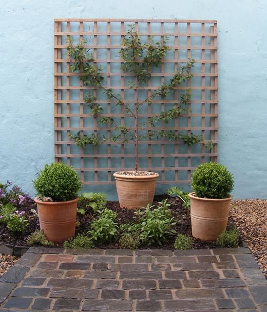 trelica jardim madeira:Um jardim para cuidar: Treliças e paineis no seu jardim