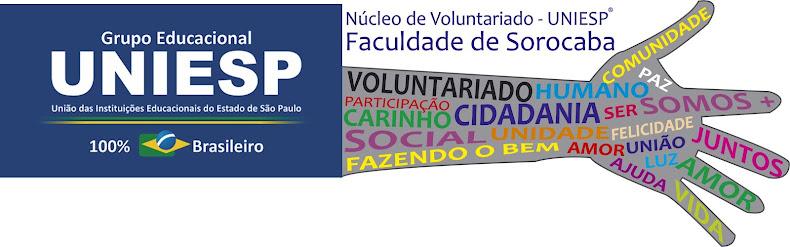 Núcleo de Voluntariado - UNIESP ®  Faculdade de Sorocaba
