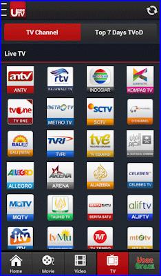 aplikasi Usee TV online android