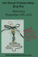 2012 Ornament Swap Blog Hop!