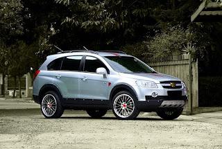 Modifikasi Mobil Chevrolet Captiva
