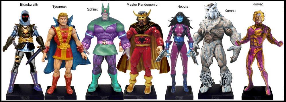 <b>Wave 54</b>: Bloodwraith, Tyrannus, Sphinx, Master Pandemonium, Nebula, Xemnu and Korvac