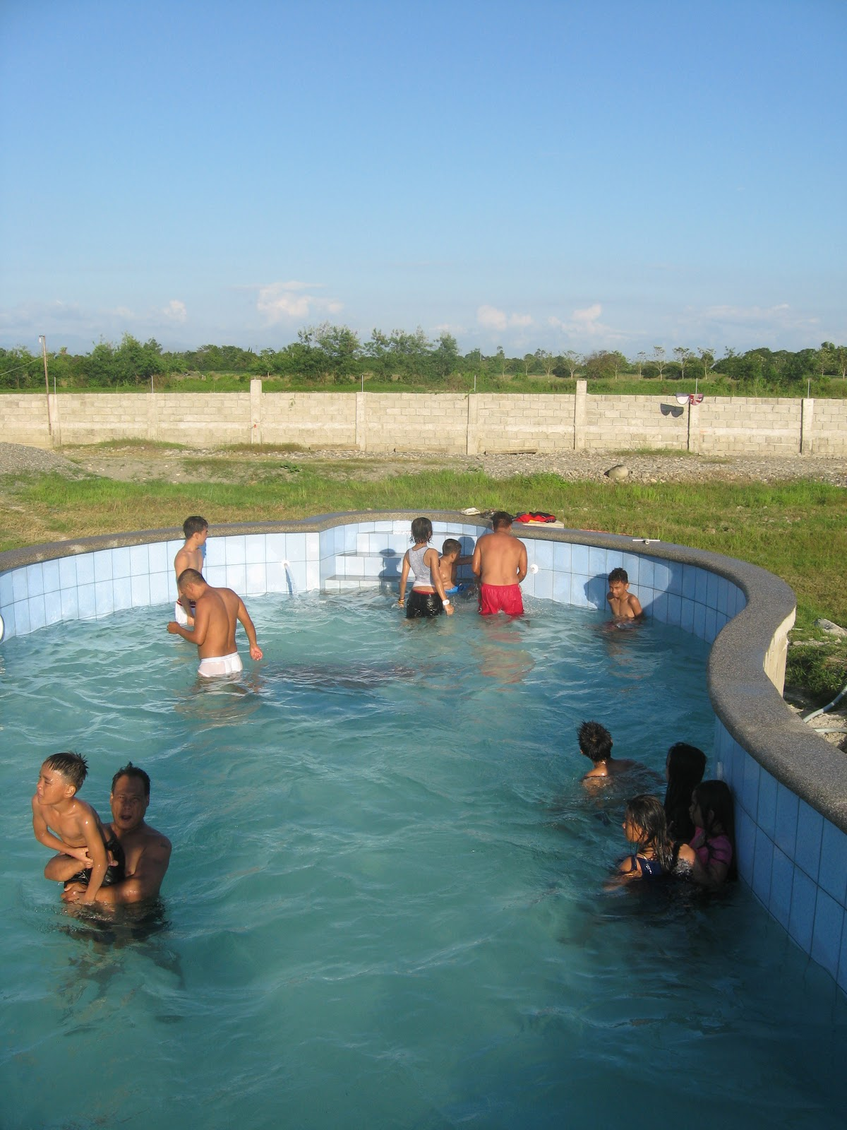 Pensionado In The Philippines Swimming Pool Construction