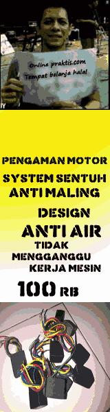 Alarm Motor Sistem Sentuh