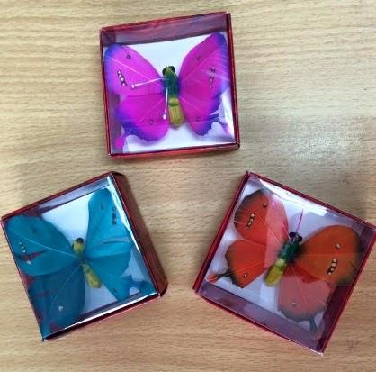koleksi souvenir pernikahan unik bross model kupu-kupu