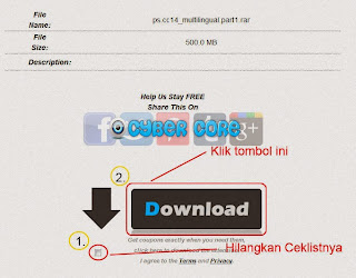 Cara Download di Billon Uploads