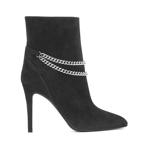 Princess Victoria - YVES SAINT LAURENT Suade Boot
