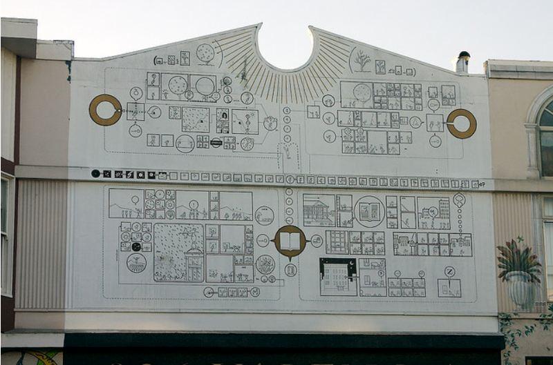 architecture and comics chris ware 826 valencia On 826 valencia mural