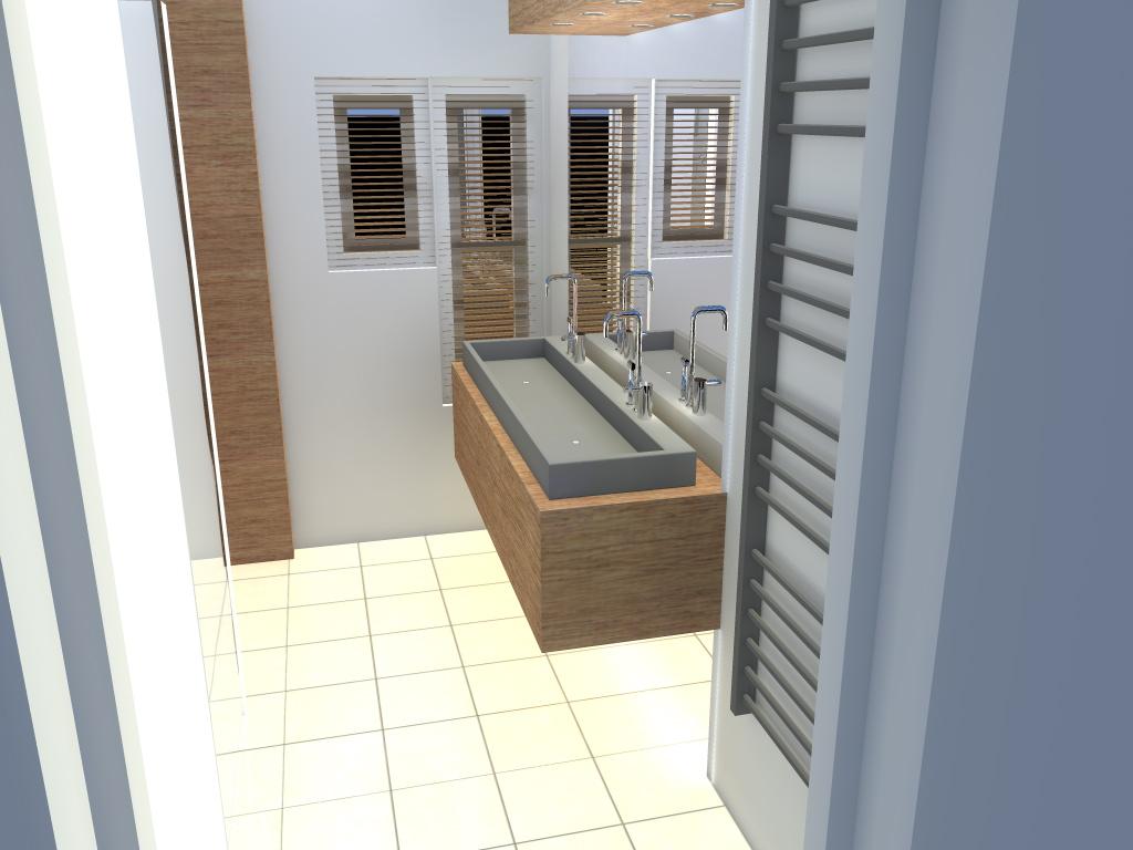 Arnoud Herberts Interieurarchitect: Badkamer ontwerpen in 3D voor ...