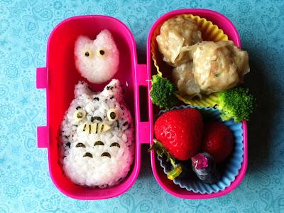 Totoro, Onigiri Bento, Shumai