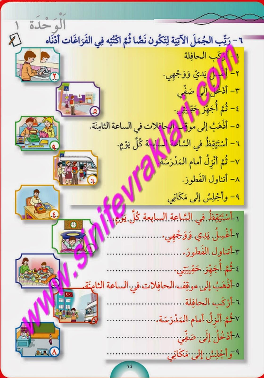 Best 7 Sınıf Arapça Ders Kitabı Cevapları Meb 2015 Image Collection