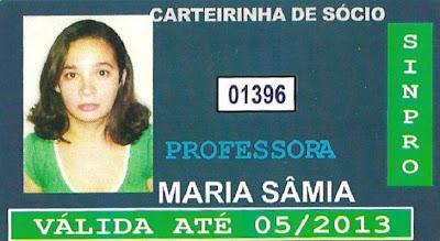 CARTEIRINHA DE SÓCIO