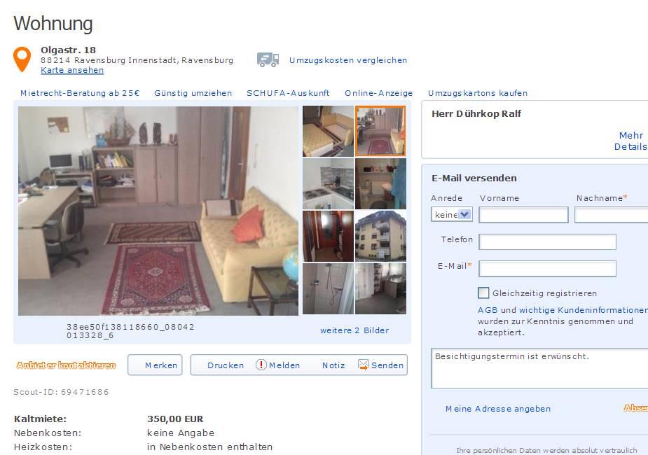 it service provider d hrkop ralf informationen ber wohnungsbetrug. Black Bedroom Furniture Sets. Home Design Ideas