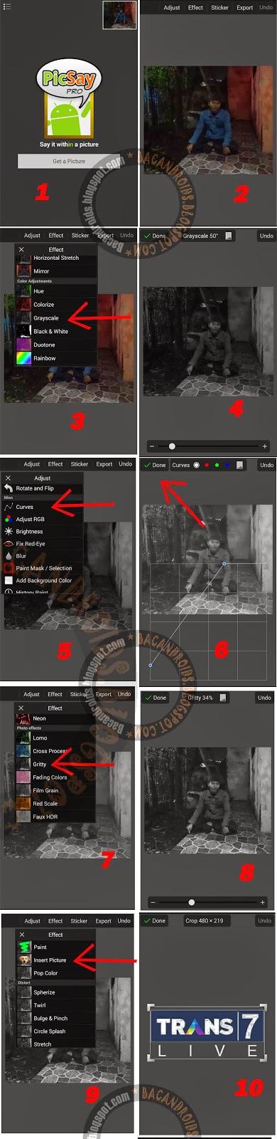 Editing Foto Frame Masih Dunia Lain