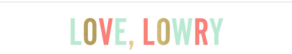 love, lowry