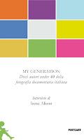 Copertina del libro MY GENERATION, di Irene Alison
