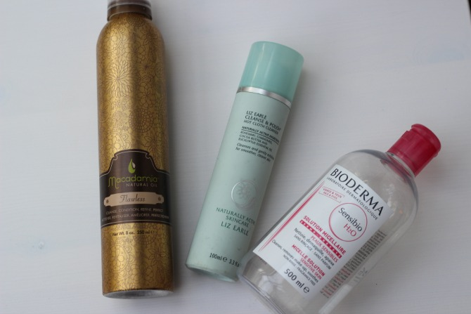 July 2014 empties